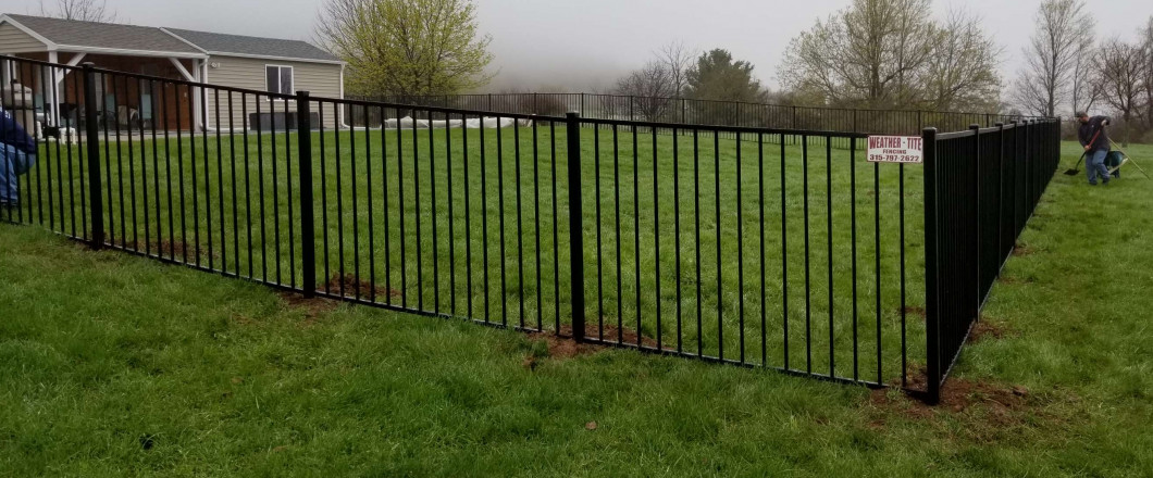 Install an Eye-Catching Fence to Define Your Property